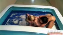 Prova do pega sabonete com Gina Jolie e Britney