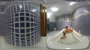Gostosa na banheira, Melissa Lisboa peladinha na câmera 360º