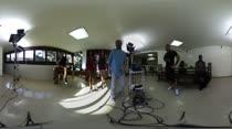 Mais um vídeo dos bastidores da putaria em 360º