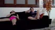 Gabi e Sacha participaram de mais um chat de sexo