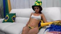 Natasha sofreu no último jogo do Brasil! Confira!