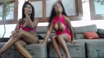 Fernanda e Amanda Thaylor participaram do primeiro chat de sexo