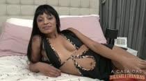 Aninha deu o ar de sua graça no reality show pornô A Casa das Brasileirinhas!