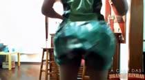 Francieli Smith abusa da sensualidade no show erótico!