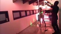 Safadas sensualizam no pole dance das Brasileirinhas