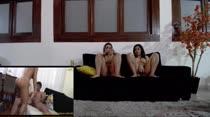 Erika e Lilith assistiram um filme pornô da Brasileirinhas