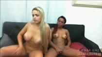 Chat de sexo com as safadas Angel Lima e Samira Ferraz