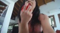 Joyce Jacomelli mostra a bucetinha no chat de sexo