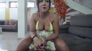 Rebecca Santos nua em chat de sexo