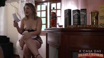 Atriz Pornô   Conversa com Nina   A Casa das Brasileirinhas