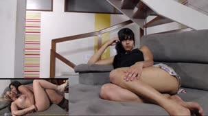 Mariana Torres curtiu um pornozão na Casa