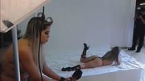 Emanuelly Weber posa nua para ensaio sensual das Brasileirinhas