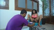 Paola Gurgel e Manuella Pimenta capricham no boquete em consolos