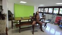 Marcella Schultz fodeu AO VIVO com Igor Negão