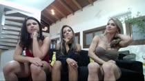 Fernandinha e Dani apresentaram Nayara aos assinantes