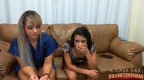 Assista ao chat de sexo com as gostosas Angel Lima e Loren