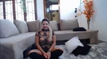 Gostosa fica peladinha em chat de sexo da Casa das Brasileirinhas
