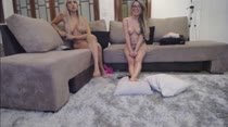 Isabella Martins e Bruna Lambertini em chat de sexo das Brasileirinhas