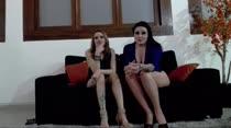 Primeiro chat de Gabi e Sacha sozinhas