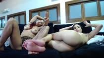 Yara e Amanda em mais um Chat de Sexo