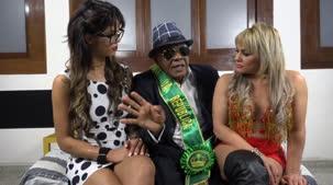 Kid Bengala se despediu de Shayenne Samara e conheceu Nicole Hilton