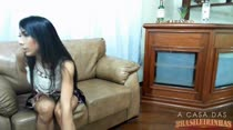 Rebeca Rios participa do chat com assinantes e contou tudo para eles
