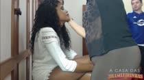 Bastidores Maquiagem |Irmãs Blu| A casa das Brasileirinhas