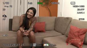 Sexo anal, Bianca Naldy dando o cú pro Kid na apresentação