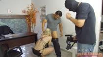 Lorena Fire em sexo ao vivo com Loupan na Casa das Brasileirinhas