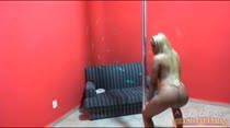 Andressa Meireles dançando Funk ao vivo na Casa das Brasileirinhas, não perca!