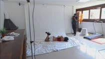 Shayene posa para fotos sensuais na Casa das Brasileirinhas